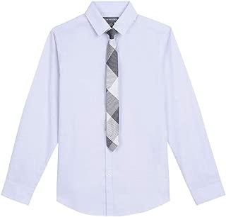 Van Heusen Boys' Big Long Sleeve Dress Shirt and Tie Set