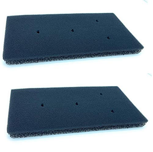 2 x Filtri per Whirlpool® Bauknecht® Privileg® HX asciugatrice pompa di calore filtro schiuma filtro spugna dimensioni 230 x 115 x 14 mm (2 Filtri)