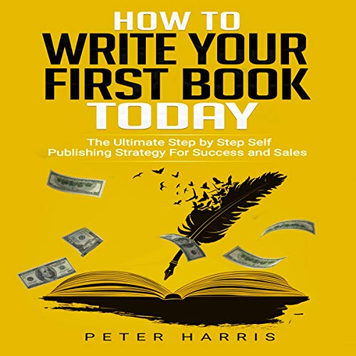 How to Write Your First Book Today Titelbild