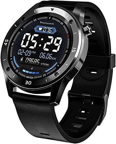 Panduo YLB - Reloj inteligente con contador de calorías, varios modos de actividad deportiva, sueño y otras funciones de monitoreo (color: negro)