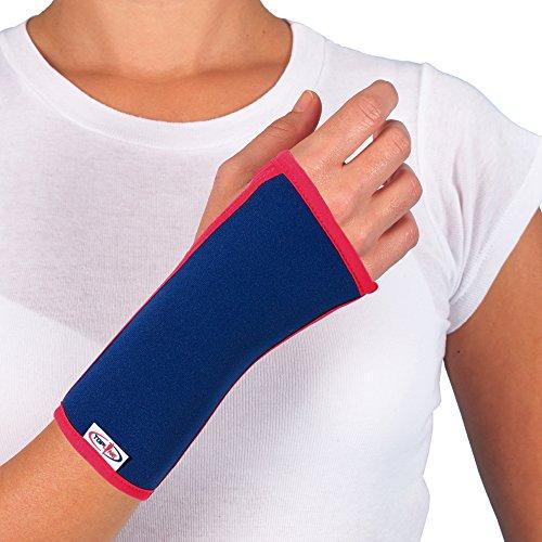 Muñequera con apertura para pulgar,recomendado para esguinces de muñeca, tendinitis, bursitis, artritis, artrosis y tras una lesión de muñeca