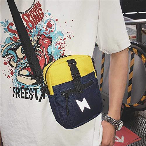 ghjg Petit Sac De Messager Mâle Petit Sac Mâle Japonais Crossbody Bag éPaule Sac D'épaule Sac De Sac à Dos De Sac à Dos Homme Jaune
