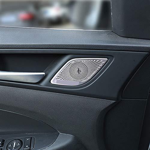 OutdoorKing Innenzubehör Für Hyundai Tucson 2016 2017 2018 2019 Zubehör Car Styling Innen Foor Speaker Trim Lünette Abdeckung Garnierung (Color : A)