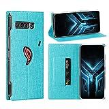Foluu ASUS ROG Phone 3 Case, Flip Folio Wallet Cover Slim