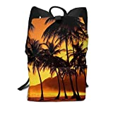 Homebe Mochila Unisex, Mochilas y Bolsas,Lovely Palm Tree Printed Primary Junior...