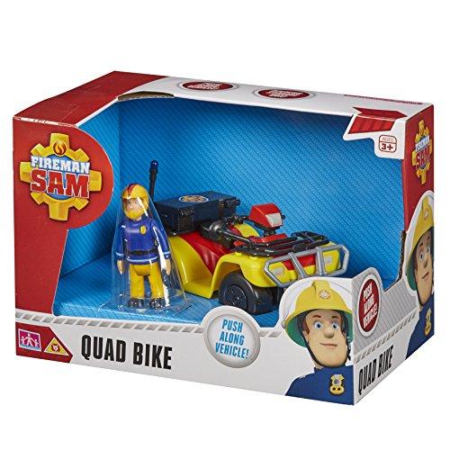 Sam Le Pompier – Sam et Son Quad – Véhicule et Figurine (Import Royaume-Uni)