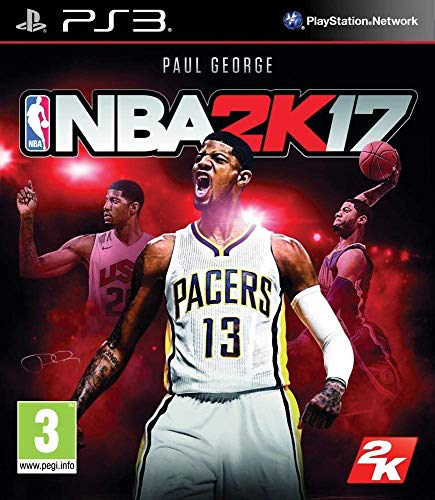 2K NBA 2K17, PlayStation3 Básico PlayStation 3 vídeo - Juego (PlayStation3, PlayStation 3, Deportes, Modo multijugador, E (para todos))
