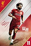 1art1 Football Poster - Liverpool LFC, Mohamed Salah 2019-2020 (36 x 24 inches)