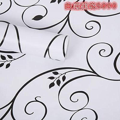 Papel pintado autoadhesivo papel pintado decoración de la pared pegatinas impermeables 3d pegatinas de pared 60X1000cm