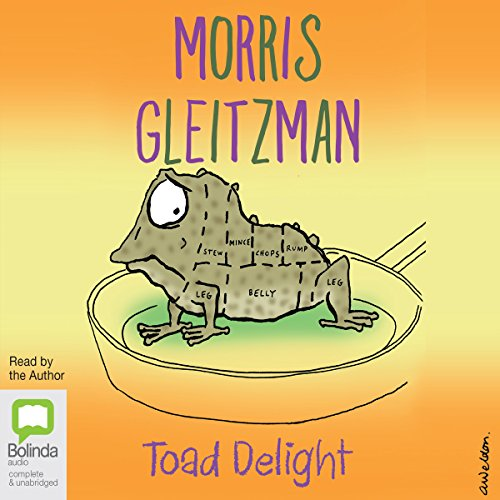 Toad Delight     The Toad Series, Book 5              De :                                                                                                                                 Morris Gleitzman                               Lu par :                                                                                                                                 Morris Gleitzman                      Durée : 2 h et 47 min     Pas de notations     Global 0,0