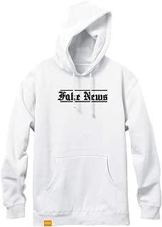 Enjoi Skateboard Hoody Fake News Pullover White