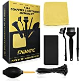 Enimatic Computer Cleaning Kit | PC Cleaning Kit for Computers, Desktops, PCs, Laptops, and More | Clean, Organize, and Make Your Electronics New (7-in-1 Complete Kit)