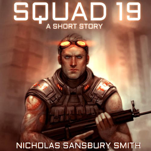 Squad 19 audiobook cover art