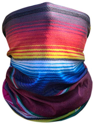 Sarape Motorcycle Mask By Indie Ridge - Dust and Wind Riding Outdoor Neck Gaiter