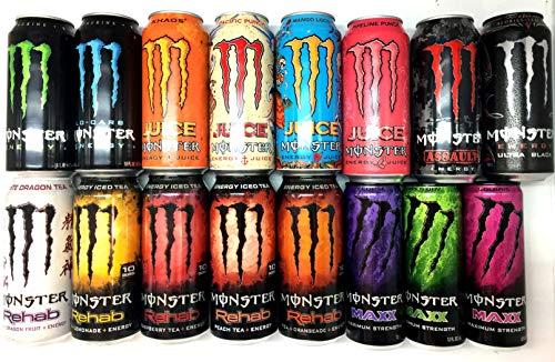 Monster Energy Drink Sampler Pack - 16 count