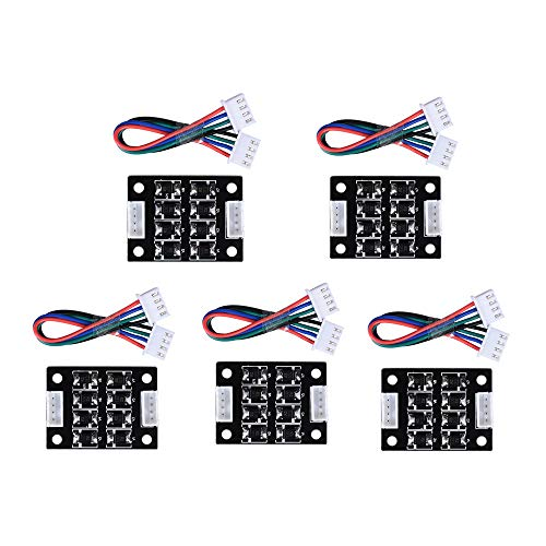 ARQQ TL Smoother Addon Module for Pattern Elimination Motor Clipping Filter 3D Printer Stepper Motor Drivers (Pack of 5pcs)