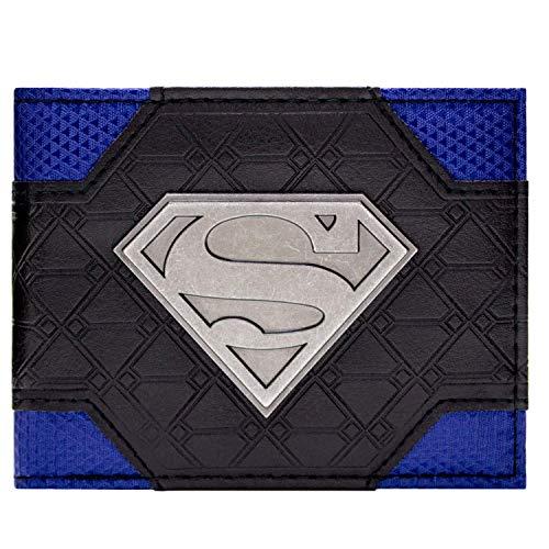 Cartera de DC Comics Superman Logo Multicolor