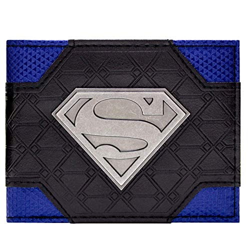Cartera de DC Comics Superman Logo Multicolor