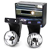 iJDMTOY Complete Set Fog Lights Foglamps with...