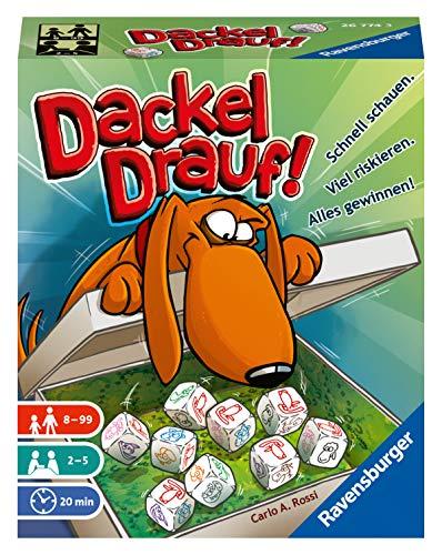 Preisvergleich Produktbild Ravensburger Kartenspiele 26774 - Dackel drauf!