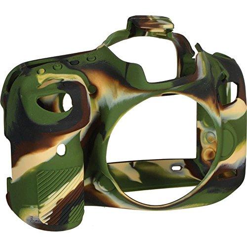 EasyCover - Custodia in silicone per Canon 7D Mark 2 - Camouflage