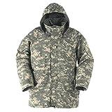 New US Army Cold Wet Weather Gen 1 ECWCS Woodland Goretex Parka Jacket Coat (ACU Digital, Large Regular)