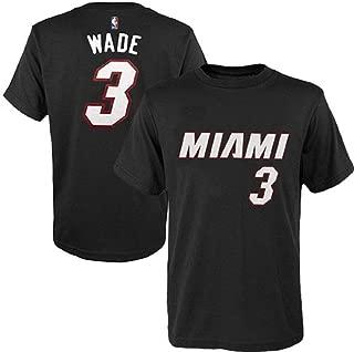Outerstuff Dwyane Wade Miami Heat #3 NBA Youth Player T-Shirt