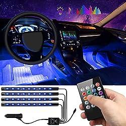 Image of Car Interior Lights 4pcs 36...: Bestviewsreviews
