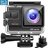Victure AC800 Action Cam 4K WiFi 20MP Unterwasserkamera 40M Wasserdicht Anti-Shake Helmkamera mit...
