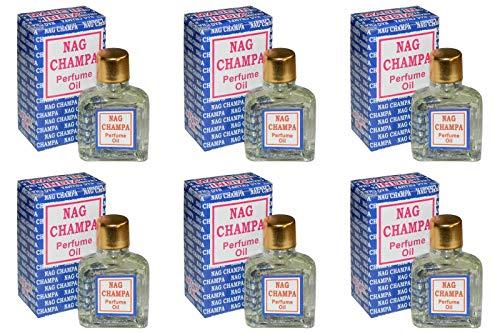 orientalhaus.de 6 x nag champa 3ml parfum Öl 18ml