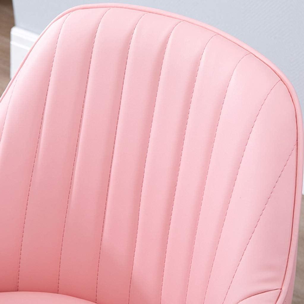HEJINXL Chaise Cuisine Chaises Salle Manger Dossier Cuir Luxe Jambe Dorée Chaise Bureau Salon Chaise Café Chambre Coucher Chaise Ordinateur Costume Chaise Maquillage (Color : J) C