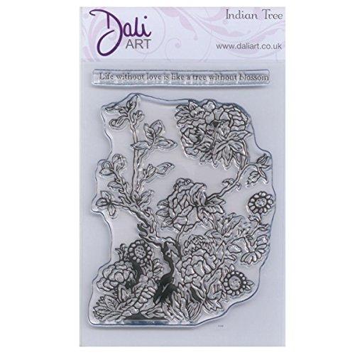 Dali Art Hortensia laag transparant stempel (A6) Indiase boom 14.7 x 10.2 x 0.3 cm doorzichtig