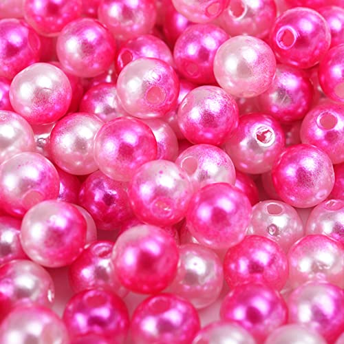 4-10mm Imitation Pearl Beads Shells Star Heart Shape Beads Round Beaded for Jewelry Making Necklace Bracelet DIY AC8essories