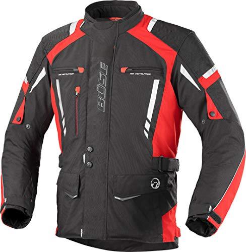 Büse Torino Pro Motorrad Textiljacke L Schwarz/Rot