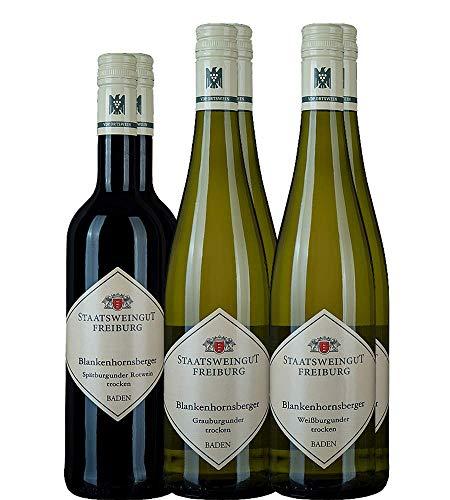 Probierpaket Klassiker, je zwei Flaschen unserer beliebten Klassiker, Staatsweingut Freiburg (6x0,75l)