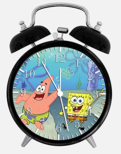 Black Alarm Clock Spongebob Schwammkopf Wecker Z65 Nizza Geschenk oder Dekoration