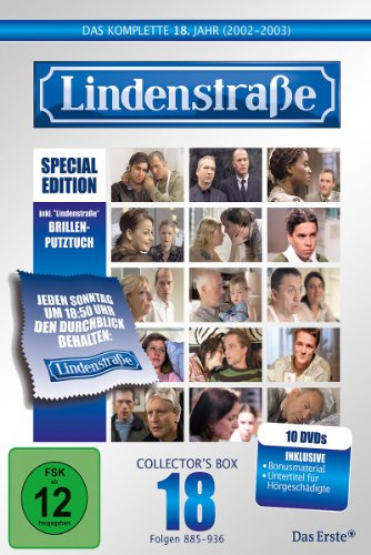 Lindenstraße - Das komplette 18. Jahr (Special Edition mit Brillen-Putztuch) (10 DVDs)