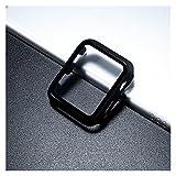 Ver Protector de Pantalla Cubierta de Vidrio+ para Apple Watch Case 44mm 40 mm IWATCH 42mm 38 mm Protector de Pantalla Templado Accesorios HD Resistente a los arañazos