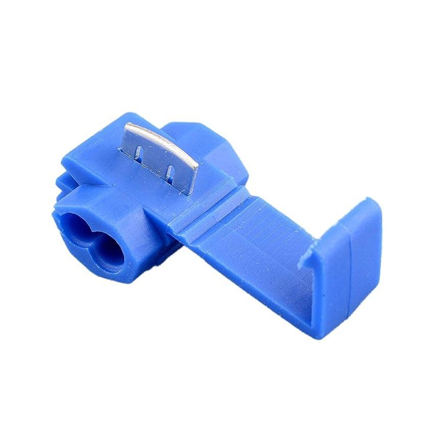 国悪用酸化するSedeta? ホット50pcsブルーワイヤー端子クイックスプライスコネクターScotchlock 14-18 AWG