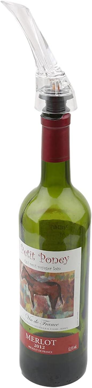 Botreelife Wine Aerator Pourer Super intense SALE Fast Decanter Aerating At the price Sp Premium