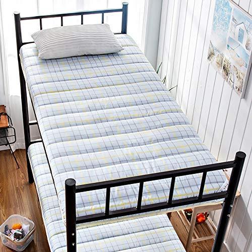 Single Mattresses,Thick Breathable Sponge Padding,Foldable Soft Mat for Student Single Dormitory,2,100 * 200cm