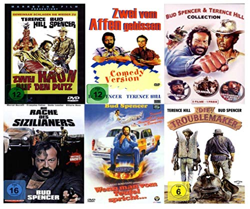 Bud Spencer & Terence Hill Box Collection Reloaded (8 Filme) [6 DVDs]