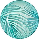 Luminarc Plato sopero Crazifolia Lumarc de 20 cm, Azul Verde