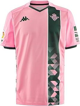 Kappa Real Betis Balompié Tercera Equipación 2019-2020, Camiseta, Pink-Green