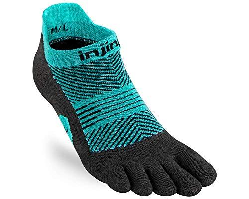 Injinji Damen Run Lightweight No-Show Socken, jewel, M-L