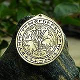 Algiz rune talisman, Rune pendant, Viking necklace, nordic necklace. Algiz rune symbol - protection, godly protector.