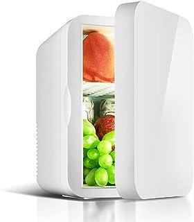 Mini kylskåp 6 liter bärbart litet kylskåp med justerbar elektrisk temperaturregulator lämplig för hudvård, medicin, dryc...