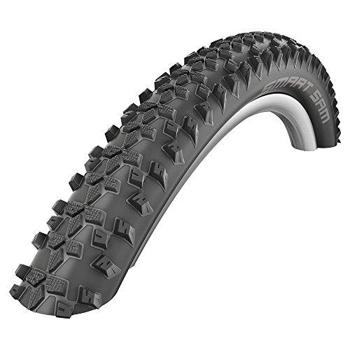 Schwalbe Reifen Smart Sam HS367 Draht Fahrradreifen, Schwarz, 29 x 2.1 Zoll