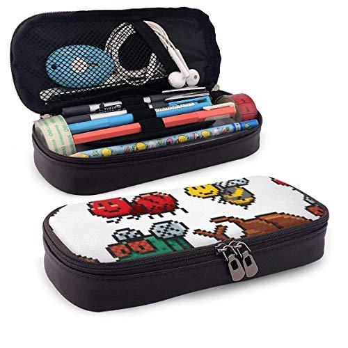 Insectos (2) lindo estuche para lápices, suministros escolares para estudiantes y adultos