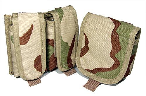 SWAT SYSTEM x Z.A.N 【SH13 SH Hand Gun Mag Pouch 2set】 Camo (CAMO)
